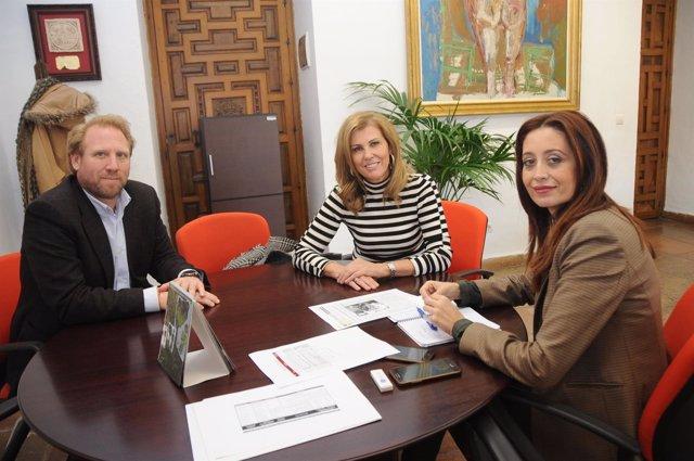 Reunión de la Diputación de Córdoba con Aprosub
