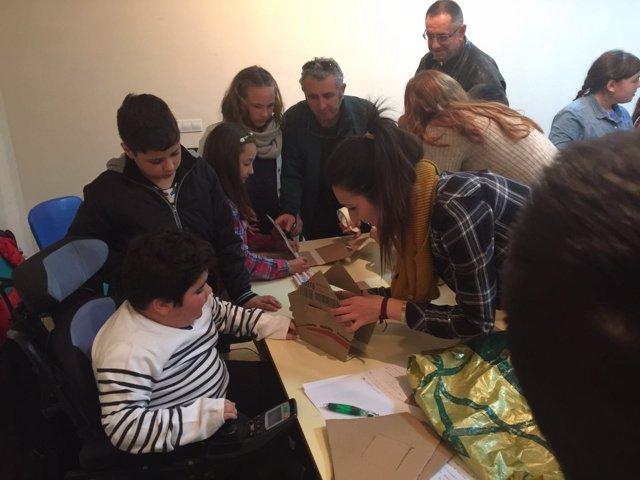 Pleno infantil celebrado por el Ayuntamiento de Huelva