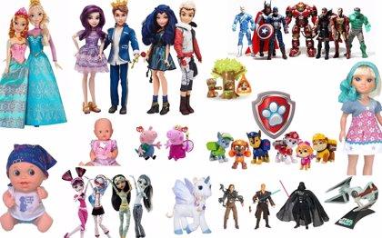 Crecen un 20,3% las exportaciones de juguetes hasta los 534 millones de euros