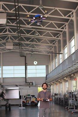Drones para evitar robos en el campo