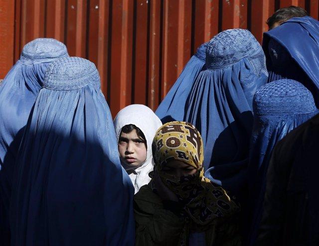 Mujeres y niñas en Afganistán