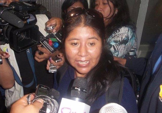 Detienen a Cristina Choque, amiga de la expareja de Morales, recientemente arres