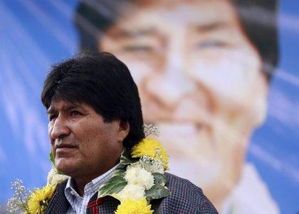 AMP.- Bolivia.- Morales pide a un juez que investigue si su hijo está vivo