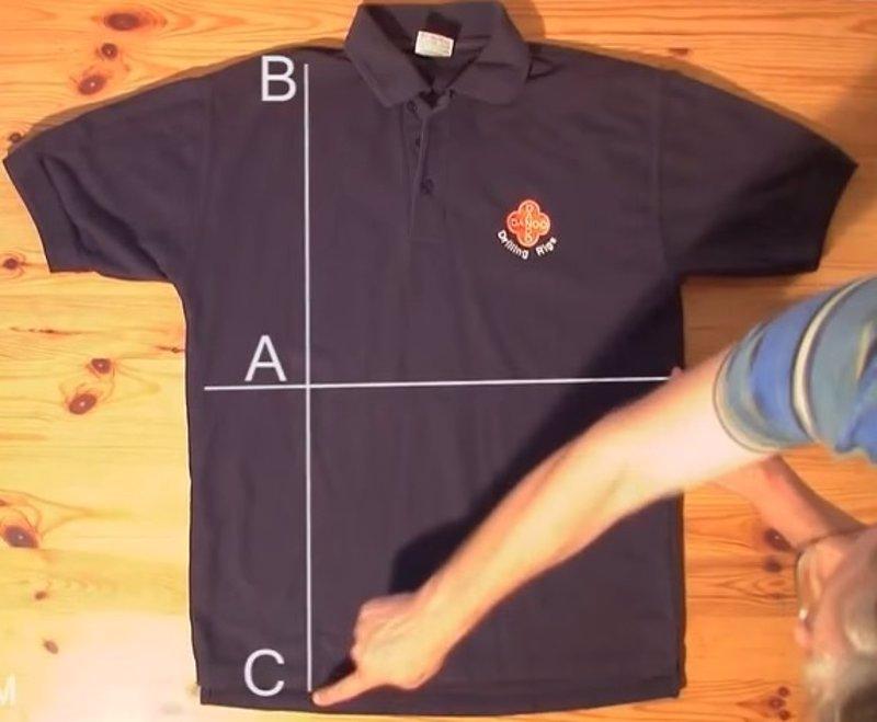 Cómo doblar una camisa en segundos (tutorial) 4147ca8454a99