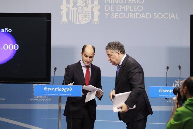 Juan Pablo Riesgo y Tomás Burgos