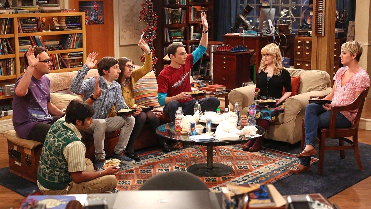 Los protagonistas de Big Bang Theory