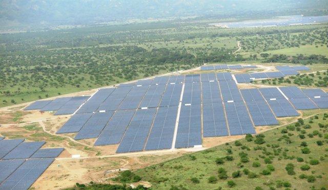 Planta fotovolcaica construida por Isolix en Honduras