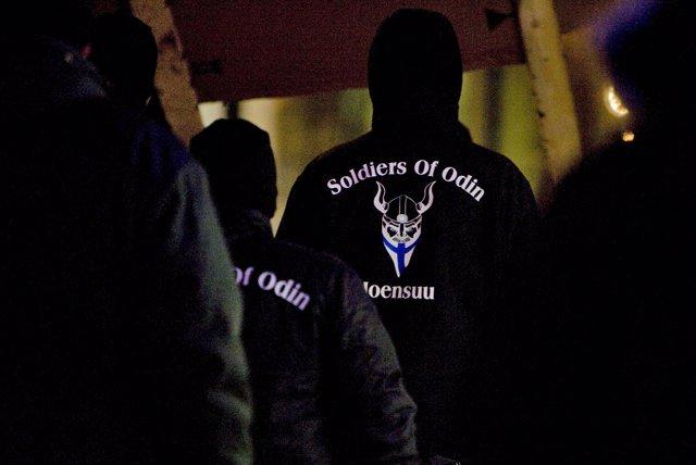 Soldados de Odín en Joensuu