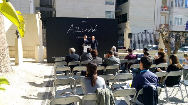 Presentación del Premio Azorín este miércoles