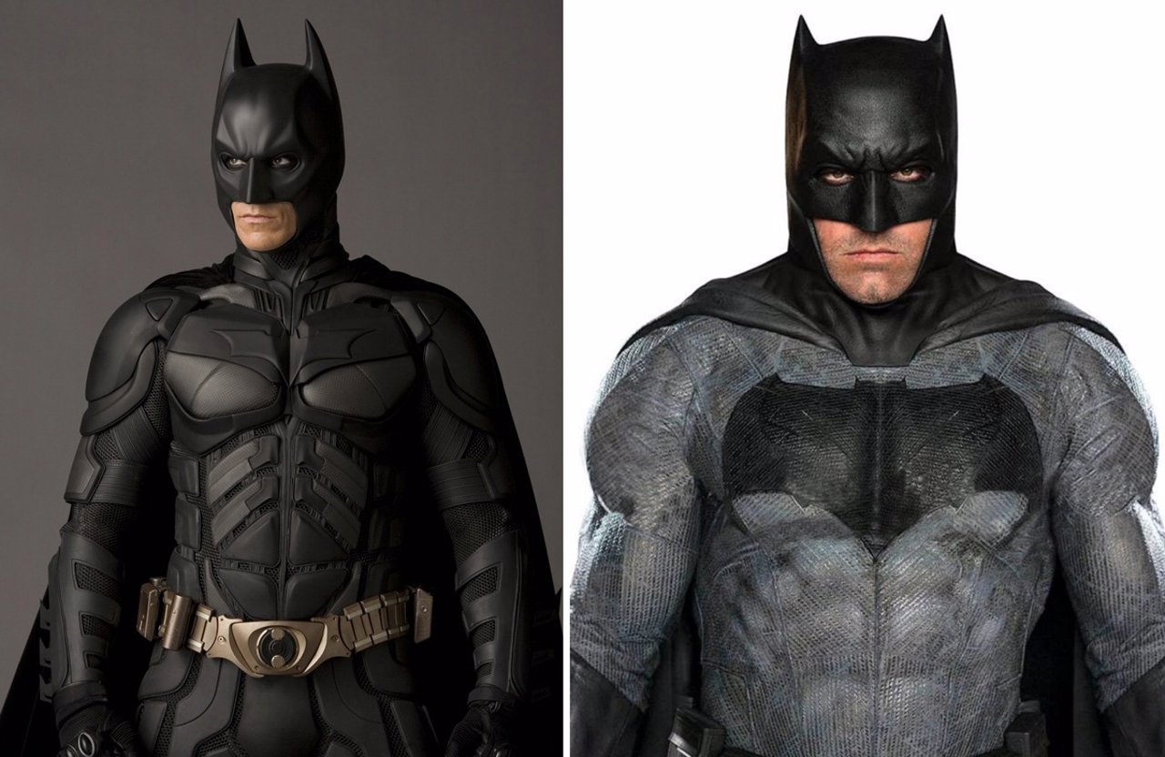 Batman Ben Affleck y Christian Bale