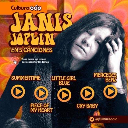 Un nuevo documental descubre a una inédita Janis Joplin: su vida en 5 canciones