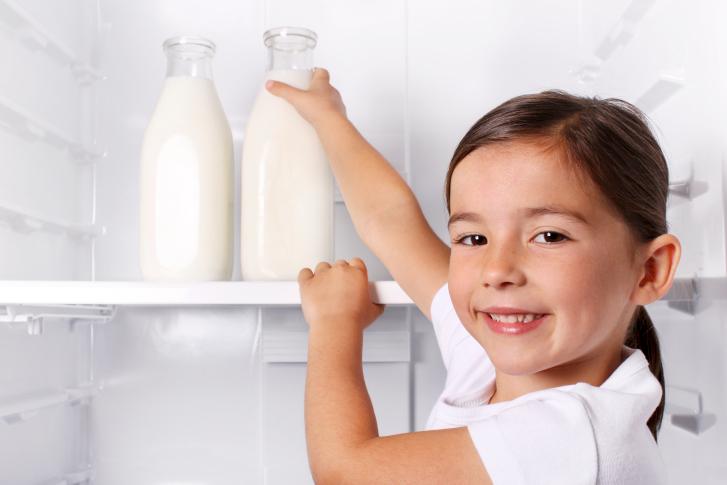 La leche sin lactosa