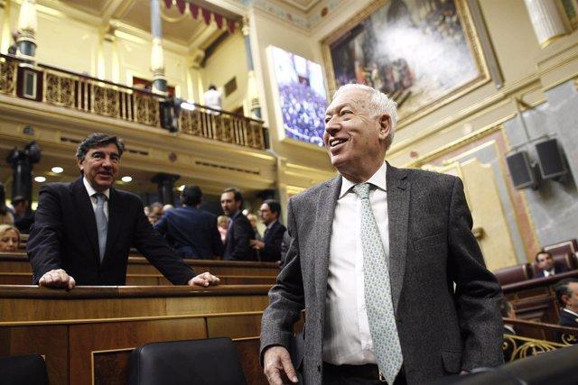José Manuel García Margallo y Bermúdez de Castro en el debate de investidura
