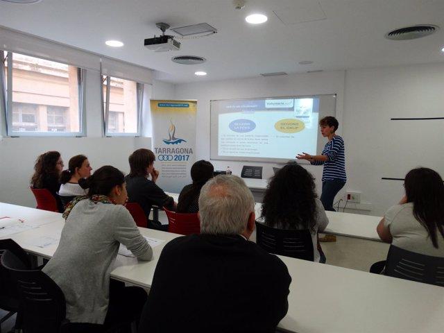 Sesión de formación de voluntarios de Tarragona 2017