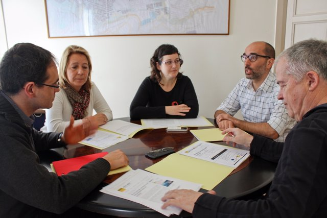 Reunión de los representantes de Terrassa, Castellar, Matadepera y Sentmenat