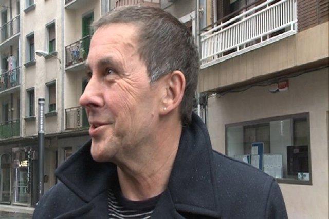 Arnaldo Otegi tras salir de la cárcel