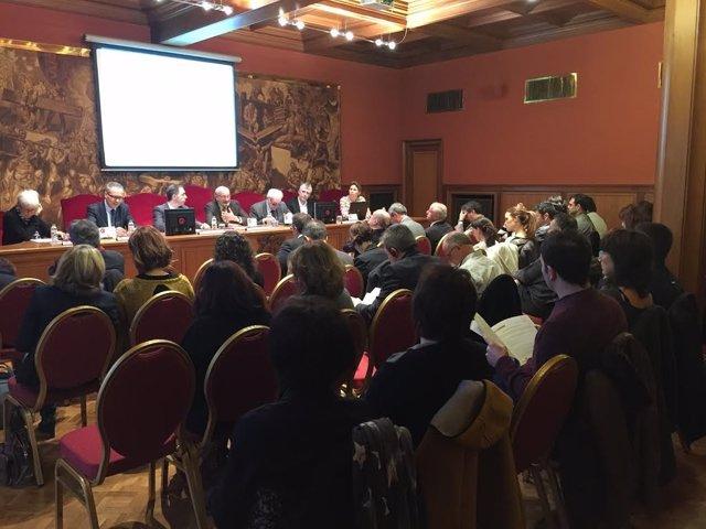 Acto de la Fundación Catalunya Europa