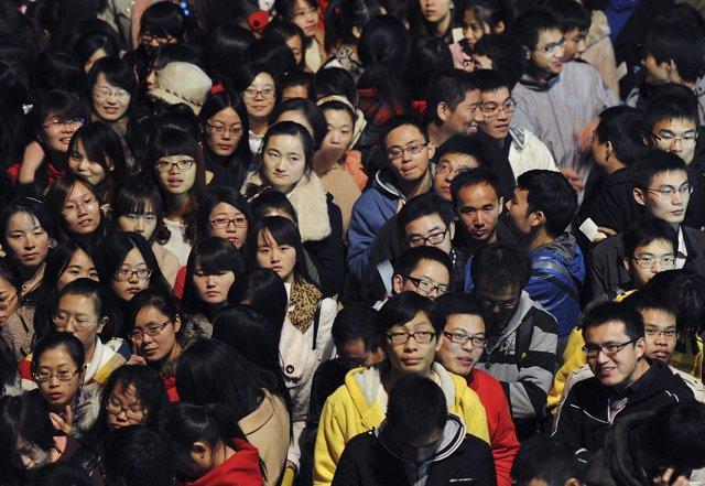 Dia de los solteros. China