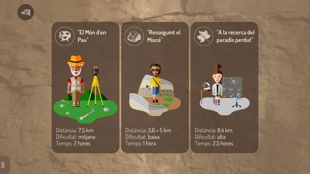 Una 'app' para móvil sobre patrimonio paleontológico de Els Hostalets de Pierola