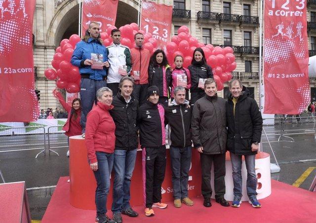Entrega de premios de la Medio Maratón de Santander