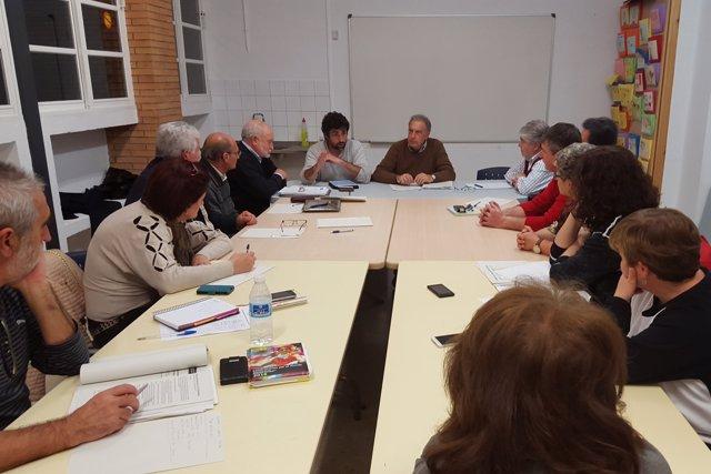Reunión del Ayuntamiento de Córdoba con el Consejo Distrito Levante