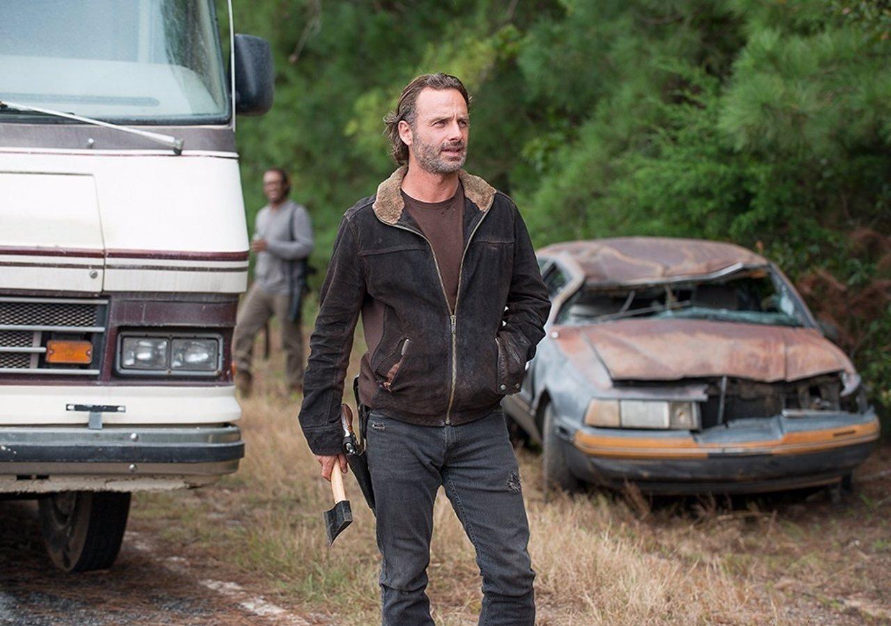 Andrew Lincoln es Rick en The Walking Dead