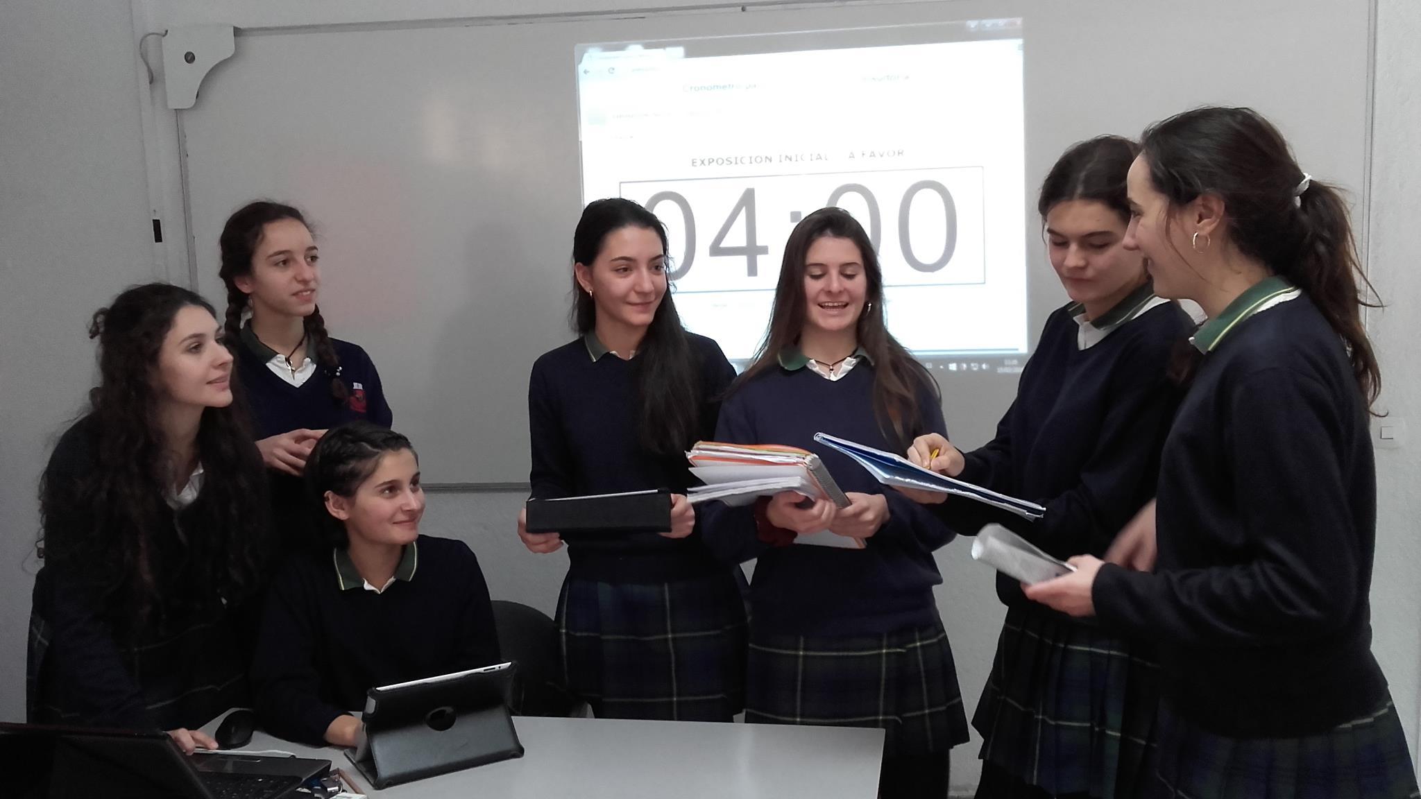 Colegio Senara; la oratoria en el aula