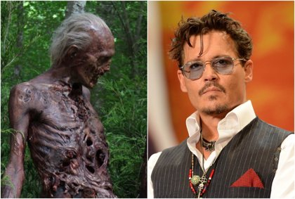 "El ""cameo"" de Johnny Depp en The Walking Dead"