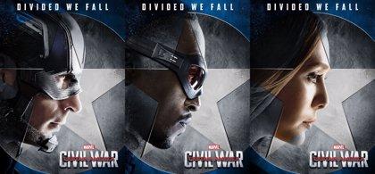 Capitán América Civil War: 6 nuevos carteles del equipo de Steve Rogers