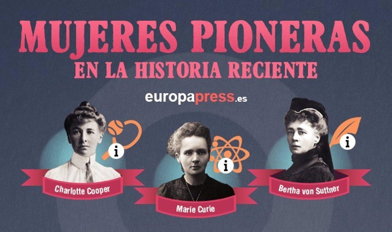 20 Mujeres Pioneras En La Historia