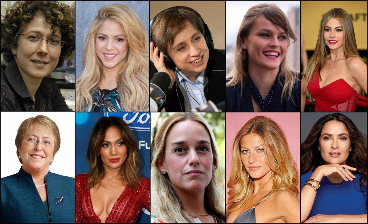 Las 10 mujeres más influyentes de iberoamérica