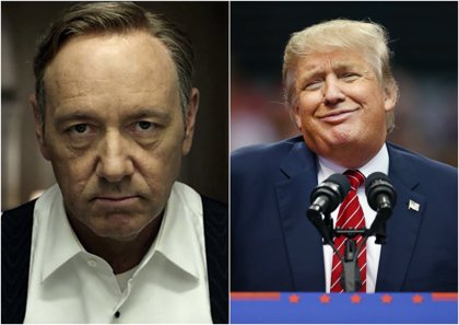 House of Cards: ¿Quién ganaría un debate entre Frank Underwood y Donald Trump?