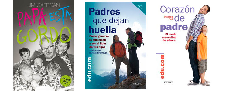 Trilogía de libros para el Día del padre