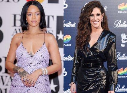 Rihanna, la mujer más escuchada en el mundo en Spotify