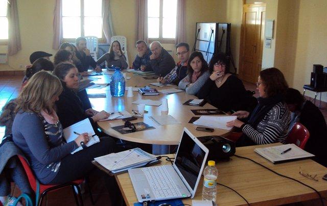 Reunión del CEDESOR sobre los fondos LEADER en Campo