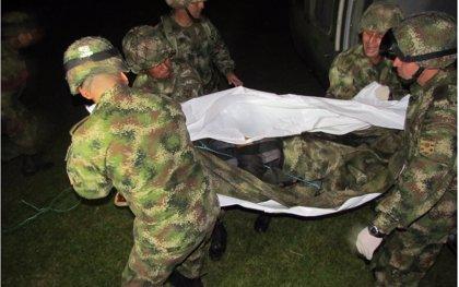 Mueren dos soldados en un enfrentamientos con el ELN en Antioquia