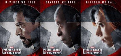 Capitán América Civil War: 6 nuevos carteles del equipo de Tony Stark