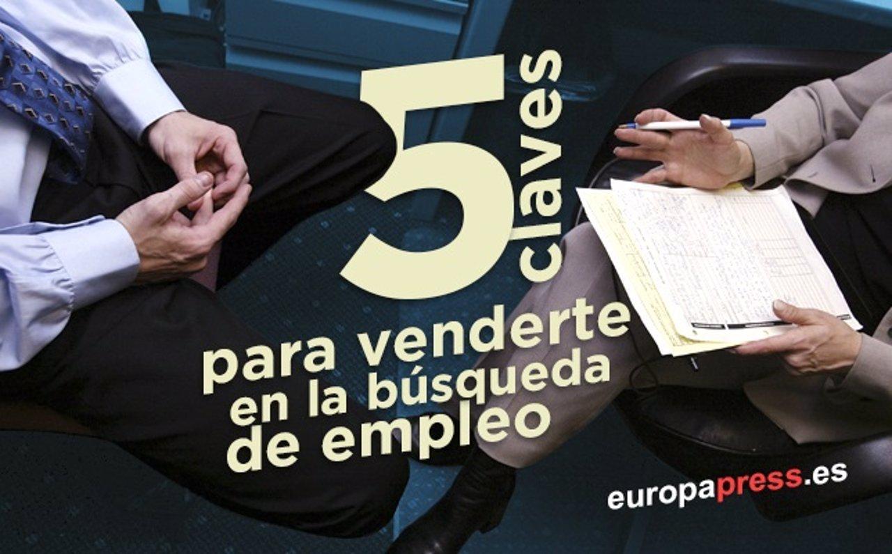 Cinco claves para \'venderse a uno mismo\' en la búsqueda de empleo