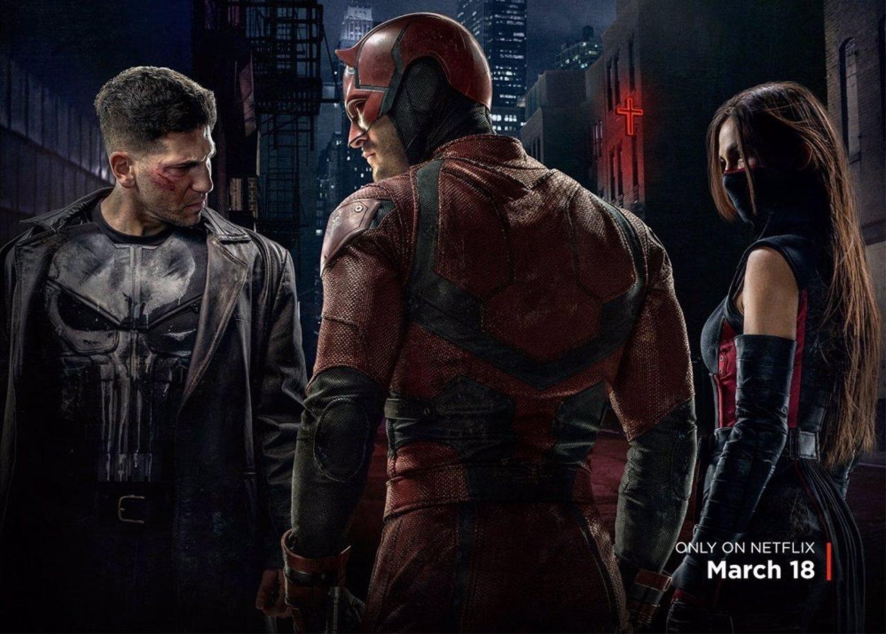 The Punisher, Daredevil y Elektra