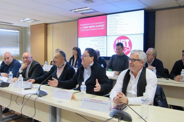 El candidato a la Secretaría General de UGT José María Álvarez