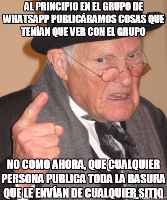 memes de grupos aburridos