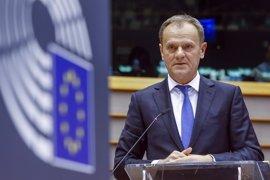 """Tusk celebra que haya """"terminado"""" el flujo de inmigrantes por la ruta de los Balcanes"""