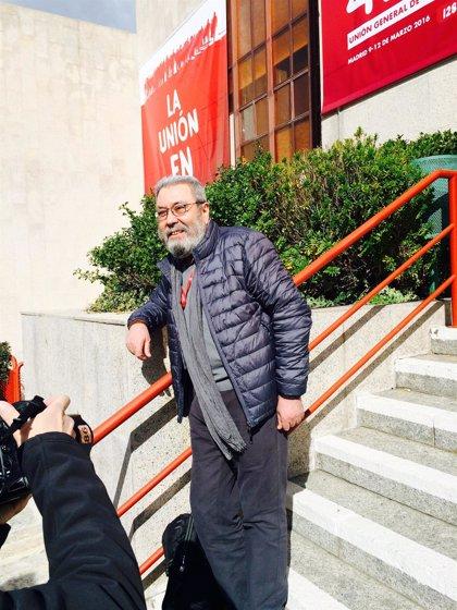 Méndez se despide de UGT apelando a la importancia de la acción sindical