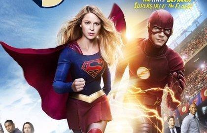Así será el crossover de Supergil y The Flash
