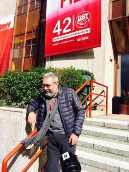 Cándido Méndez en el 42º Congreso Confederal de UGT