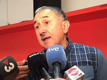 """Álvarez aboga por """"cambios en profundidad"""" en UGT para las próximas décadas"""
