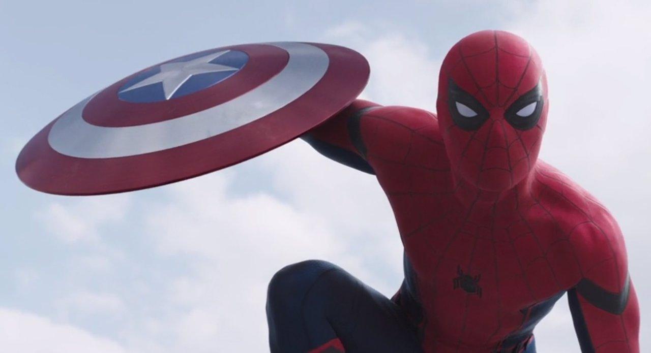 Spiderman en Capitán América Civil War