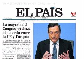 Las portadas de los periódicos de hoy, viernes 11 de marzo de 2016