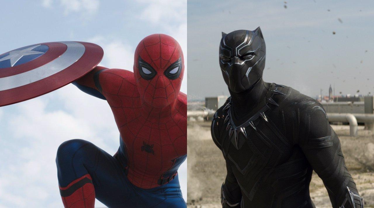 Spiderman y Pantera Negra