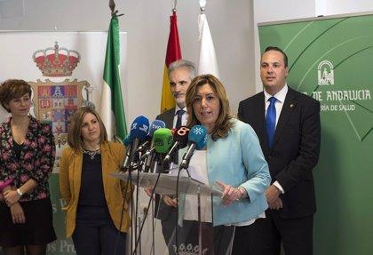 """Susana Díaz dice que Abengoa es una empresa """"viable, con futuro"""""""